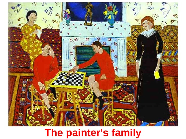The p ainter's f amily