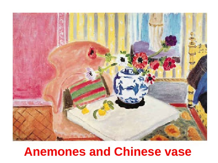 Anemones and Chinese vase