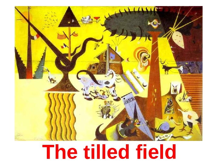 The tilled field