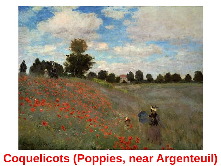 Coquelicots (Poppies, near Argenteuil)