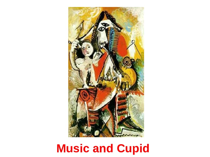 Music and Cupid