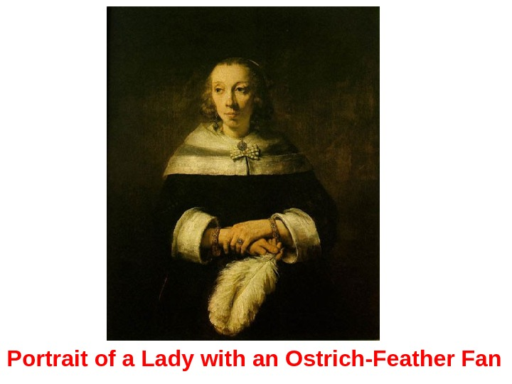 Portrait of a Lady with an Ostrich-Feather Fan