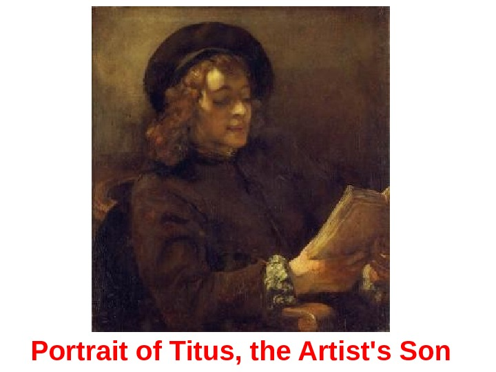 Portrait of Titus, the Artist's Son