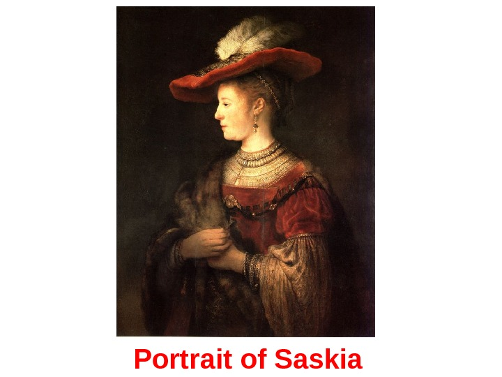 Portrait of Saskia