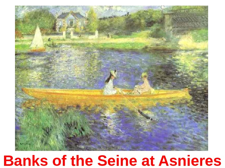 Banks of the Seine at Asnieres