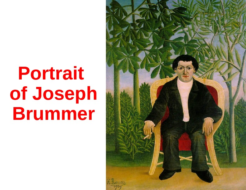 Portrait of Joseph Brummer