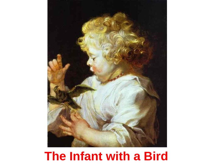 The Infant with a Bird