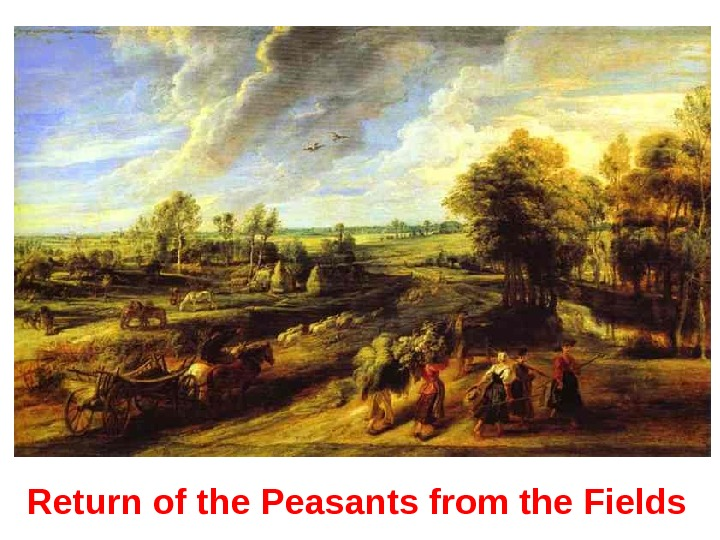 Return of the Peasants from the Fields