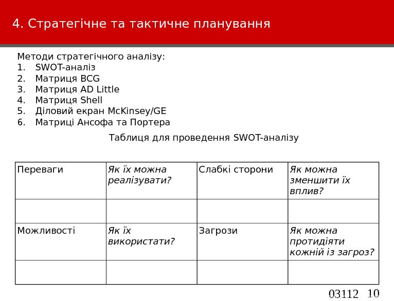 10 03112 4 -VK 1 - TTE-M arketin g. This information is confidential and was prepared