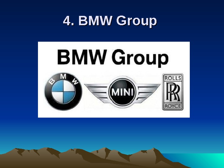 4. BMW Group