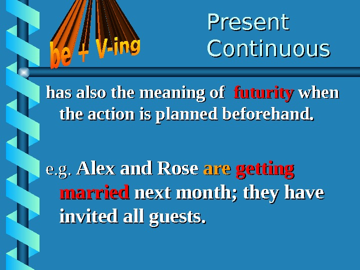 Present Continuous has also the meaning of  futurity when the action is planned beforehand. e.