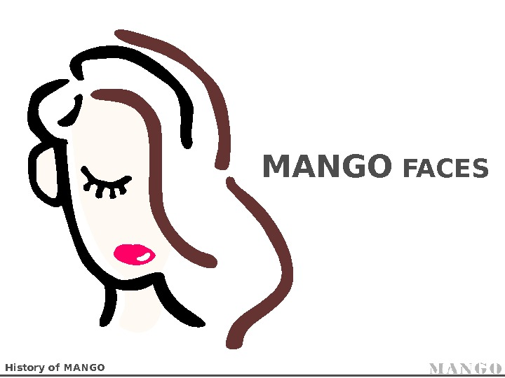 History of MANGO FACES