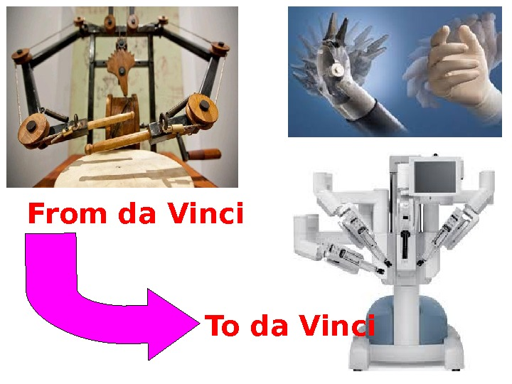 From da Vinci To da Vinci