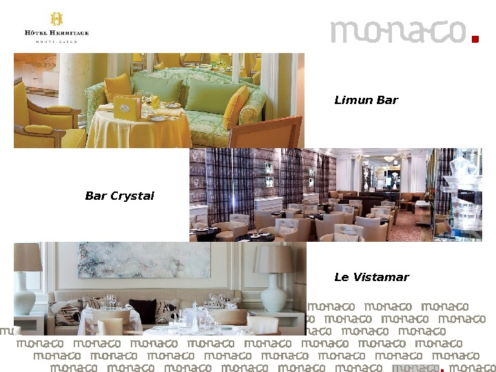 Limun Bar Crystal Le Vistamar