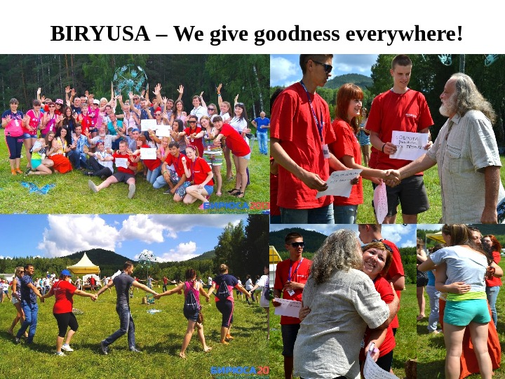 BIRYUSA – We give goodness everywhere !