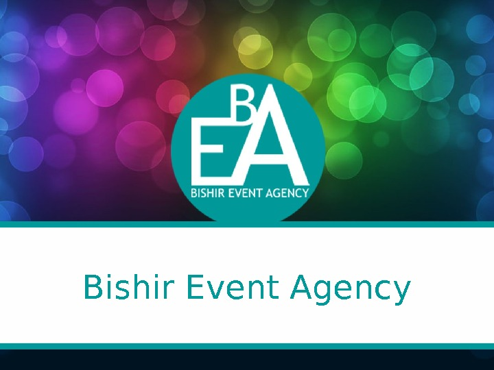 Bishir Event Agency