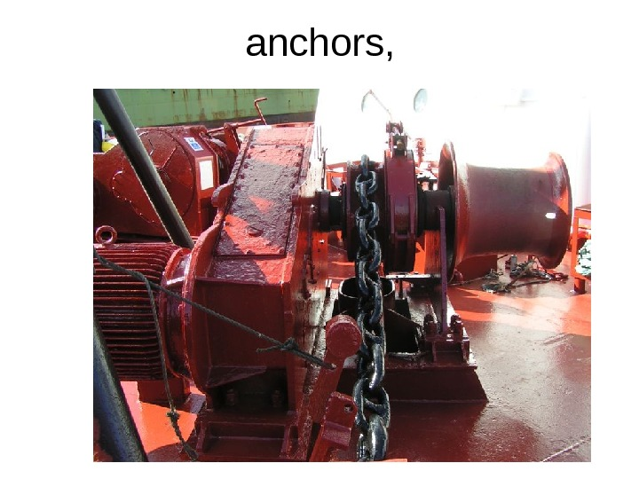 anchors,