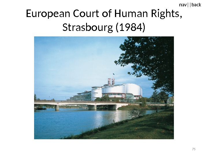 nav ||back European Court of Human Rights,  Strasbourg (1984) 75