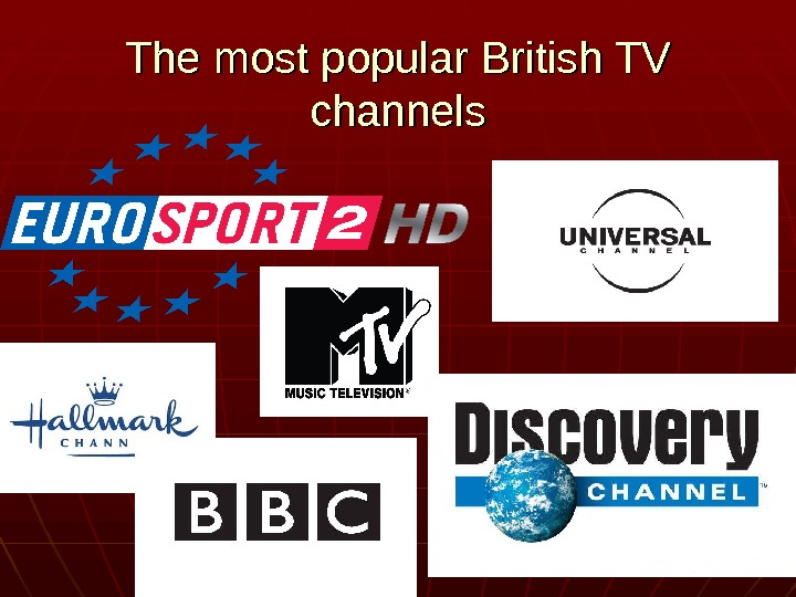 The most popular British TV channels