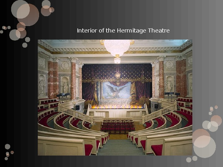 Interior of the Hermitage Theatre
