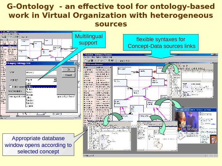 G-Ontology  - an effective tool for ontology-based work in Virtual Organization with heterogeneous