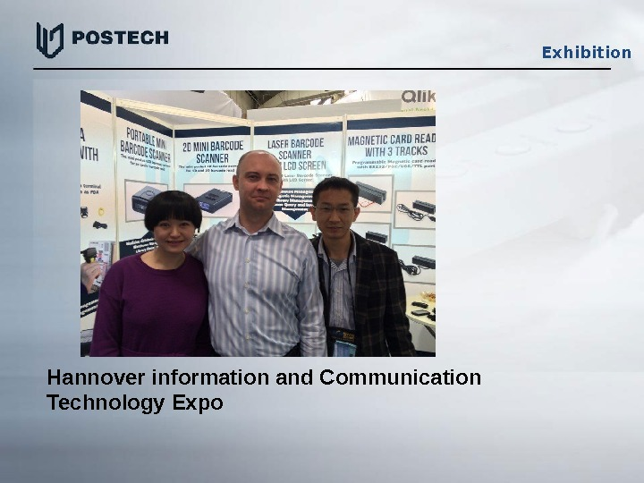 Exhibition Hannover information and Communication Technology Expo