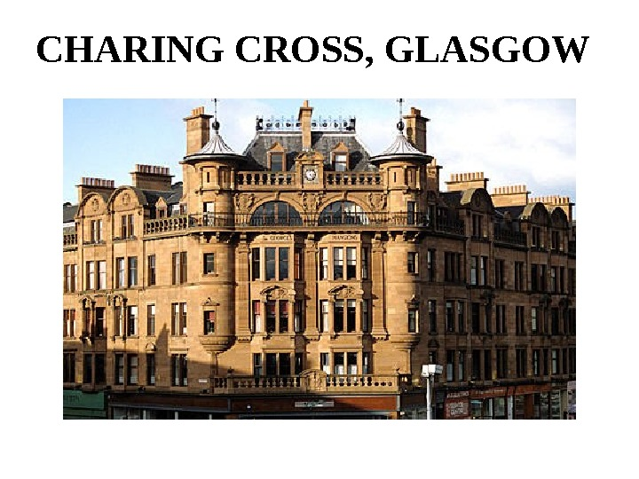 CHARING CROSS, GLASGOW