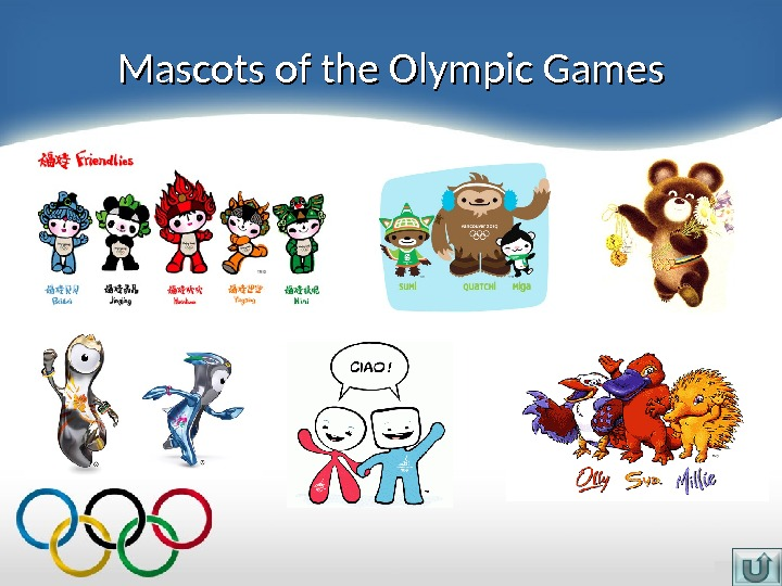 Mascots of the Olympic Games