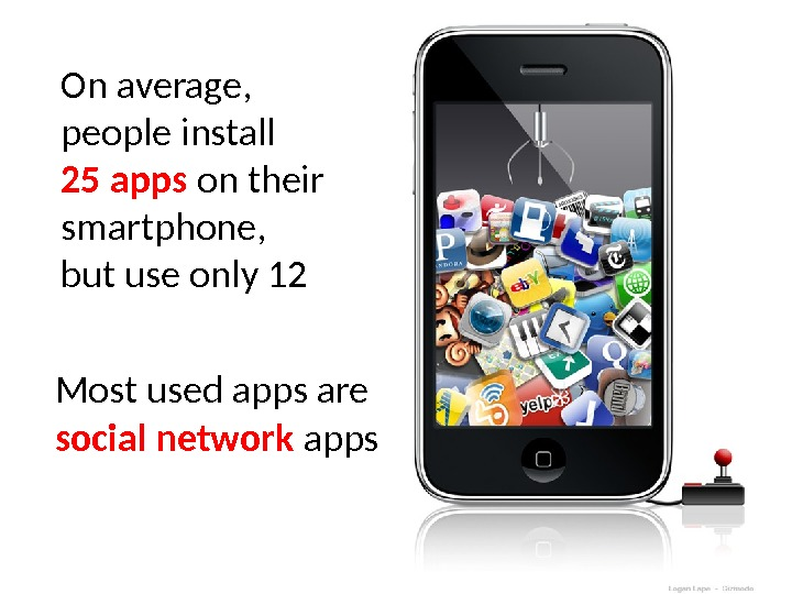 On average,  people install 25 apps on their smartphone,  but use only 12 Most