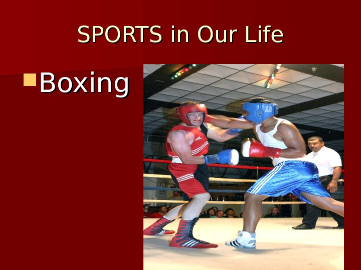 SPORTS in Our Life Boxing