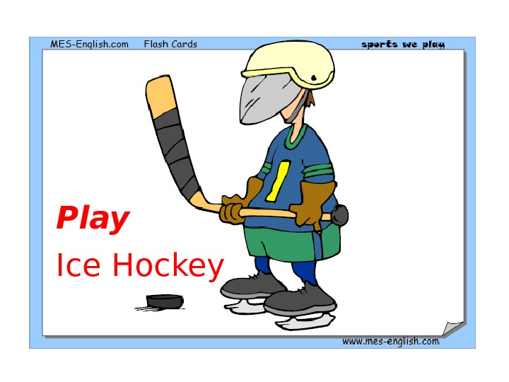 Play Ice Hockey