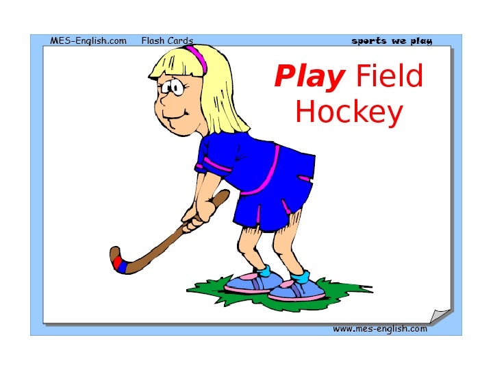 Play Field Hockey