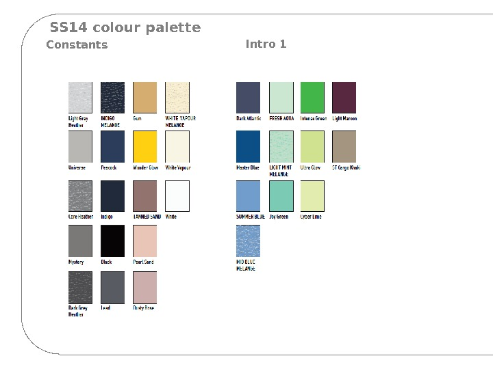 SS 14 colour palette Constants Intro 1