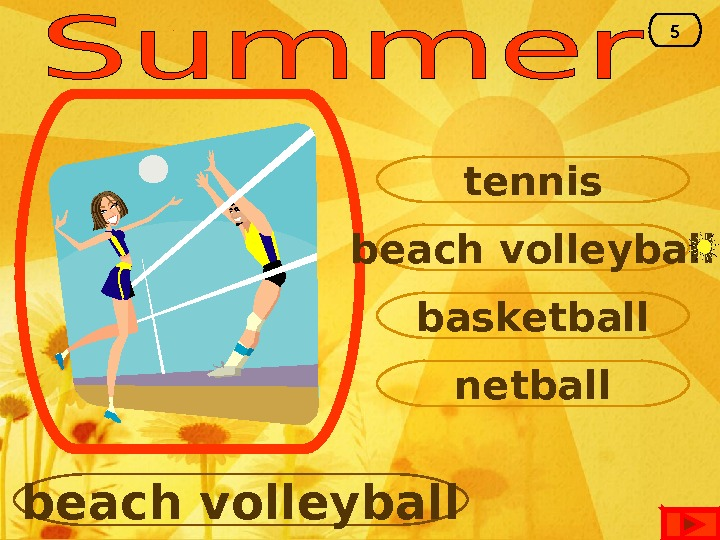 beach volleyball tennis basketball netball beach volleyball 5