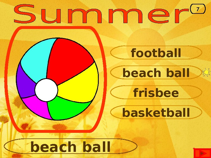 beach ball football frisbee basketball beach ball 7
