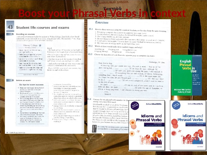 Boost your Phrasal Verbs in context