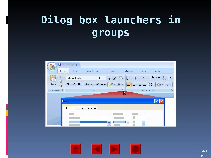 Dil og box launchers in groups Slid e 14