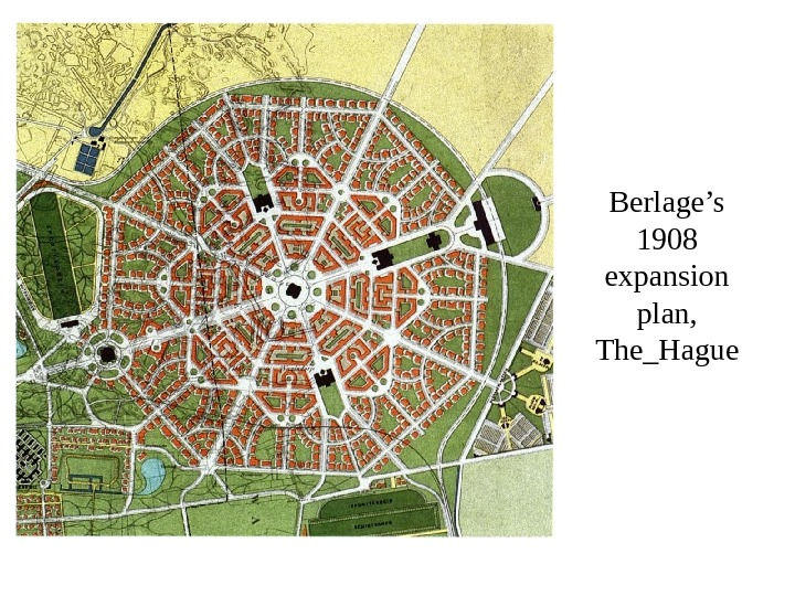 Berlage's 1908 expansion plan,  The_Hague