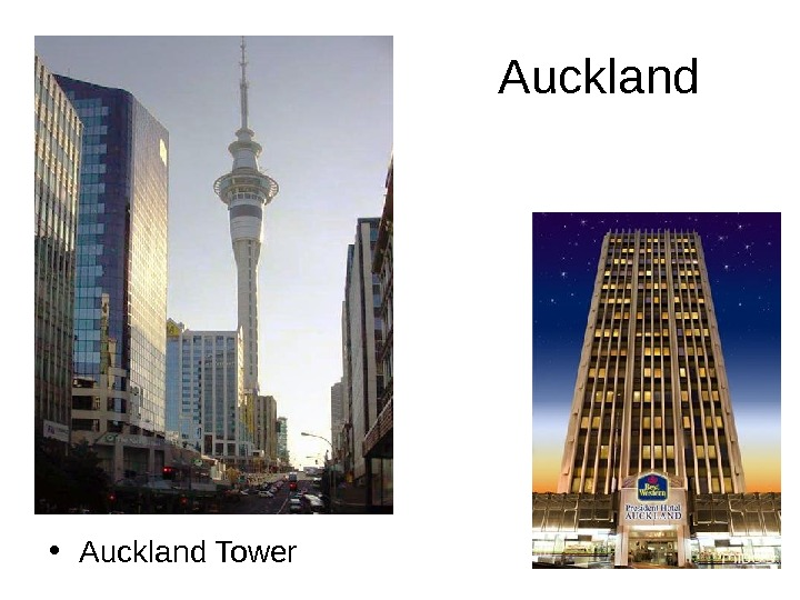 Auckland • Auckland Tower