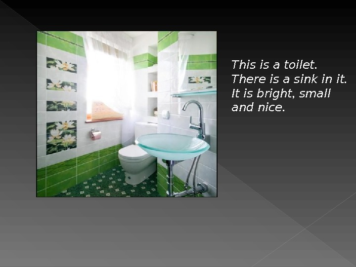 This is a toilet.  There is a sink in it.  It is bright ,