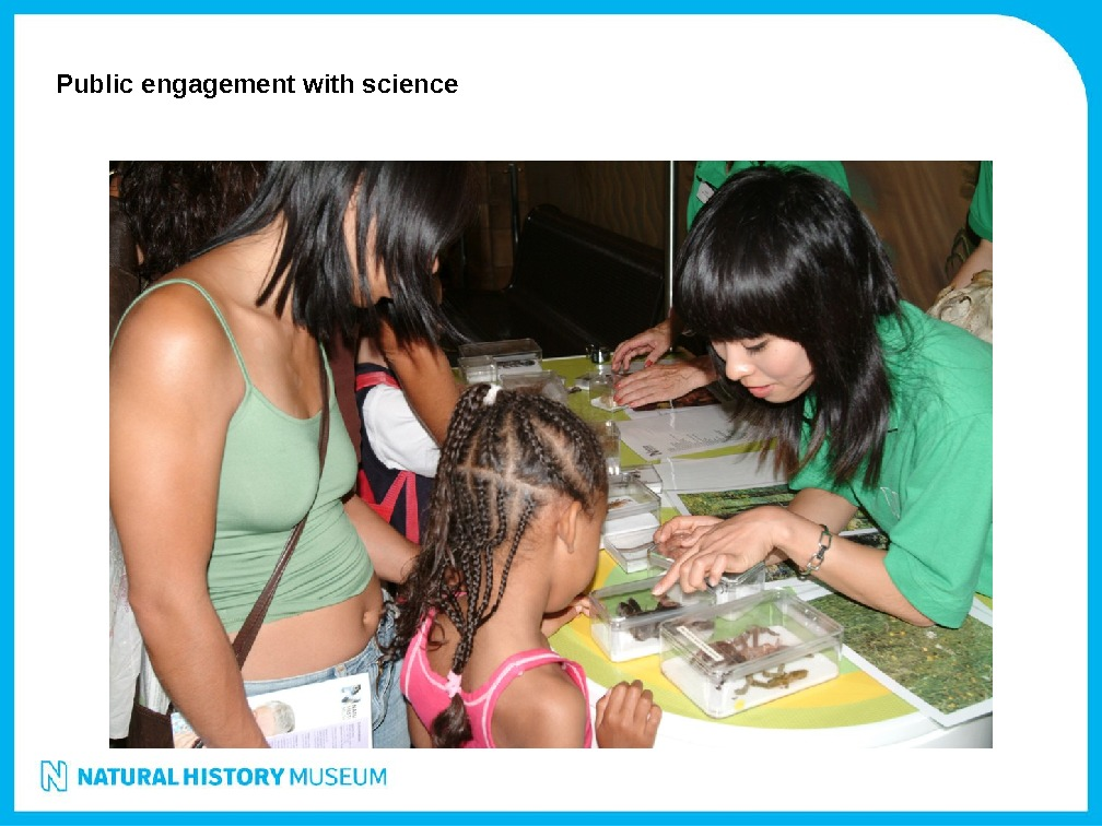Public engagement with science