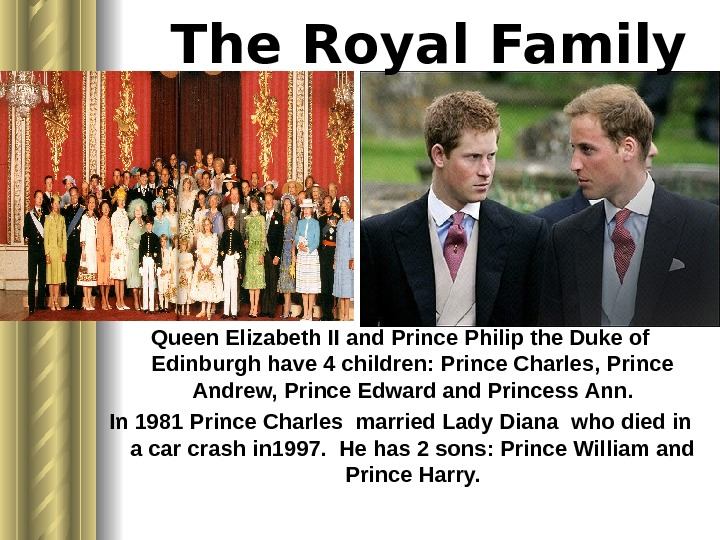 The Royal Family Queen Elizabeth II and Prince Philip the Duke of Edinburgh have