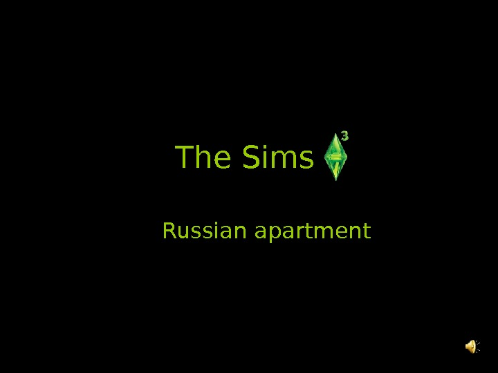 The Sims  Russian apartment