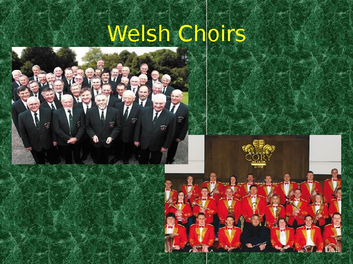 Welsh Choirs