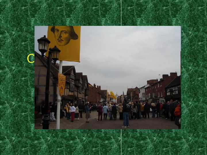 Celebrating Shakespeare's birthday in Stratford-upon-Avon