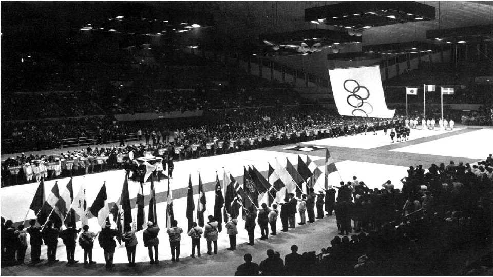 ` • Tenth Winter Olympic Games (1968). At the Olympics in Grenoble for the first time