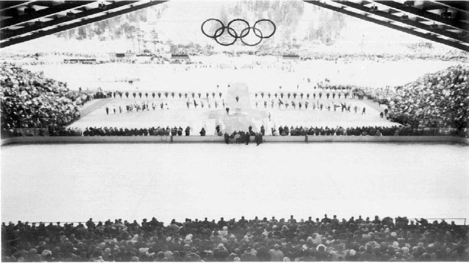• Eighth Winter Olympic Games (1960). Competition in Squaw Valley (USA) remember , above all,