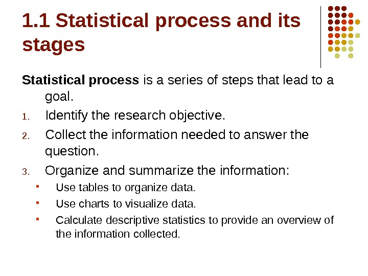Introduction to Business Management: Statistics Class 1