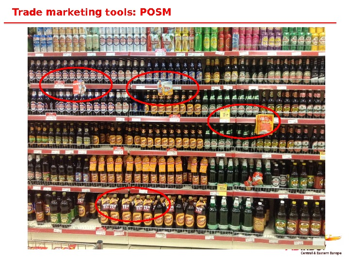 20 Trade marketing tools: POSM