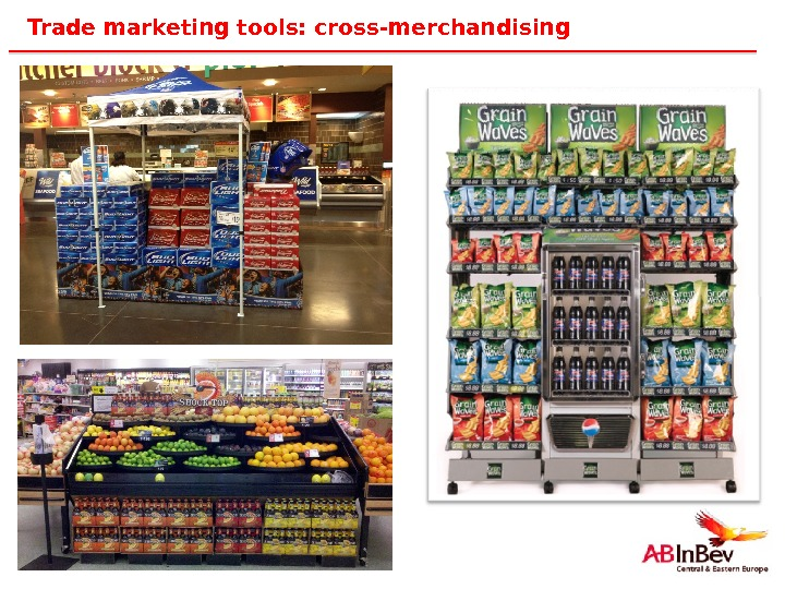 45 Trade marketing tools: cross-merchandising